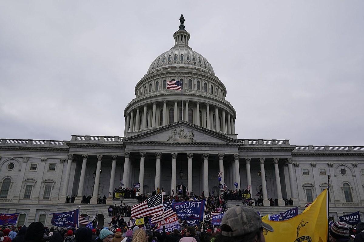 Los rockeros reaccionan a los partidarios de Trump que invaden el Capitolio