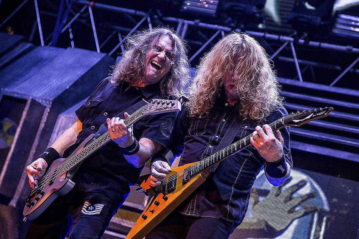Ellefson cuenta la historia de escribir un gran éxito de Megadeth en un par de horas
