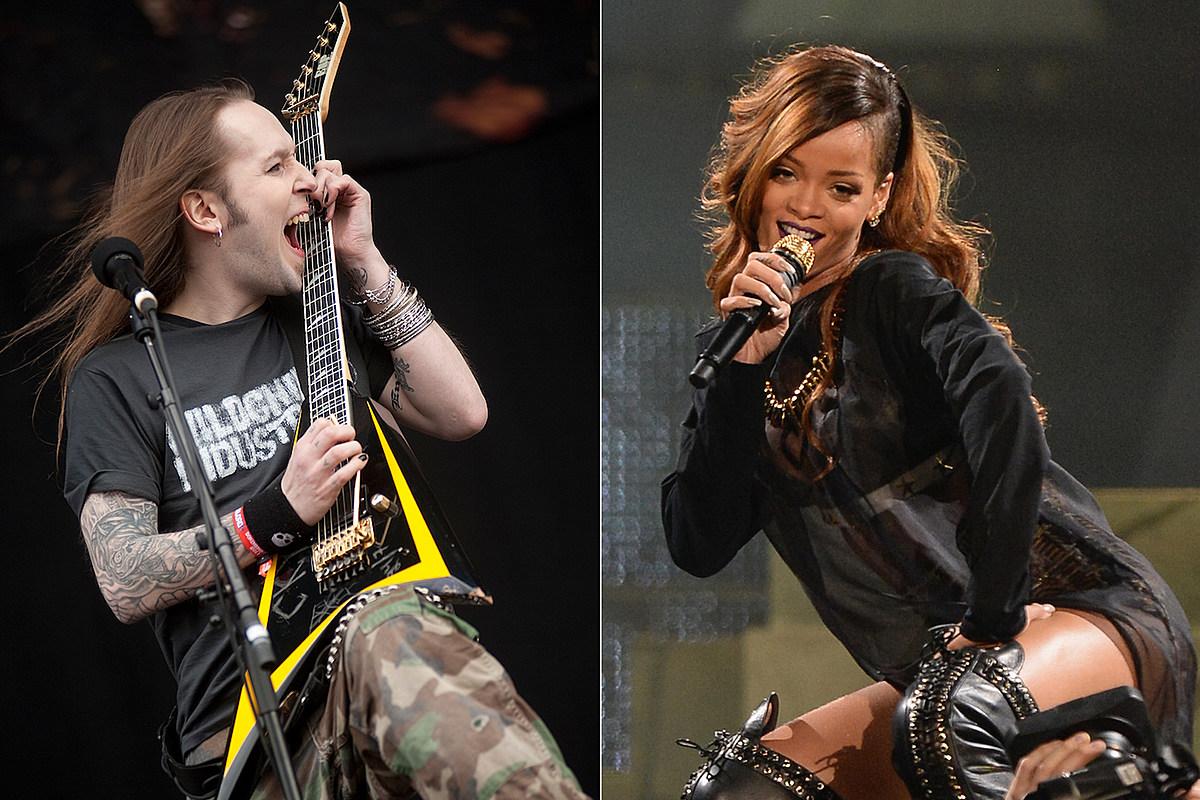 Esa vez que los niños Bodom cubrieron el paraguas de Rihanna