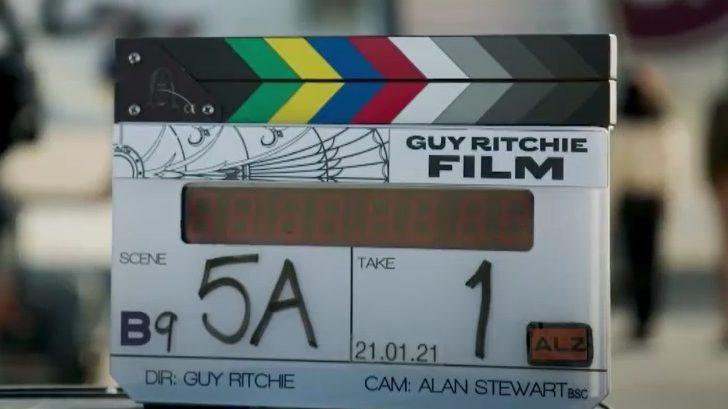 Detrás de escena, mira la película de espías de Jason Statham de Guy Ritchie