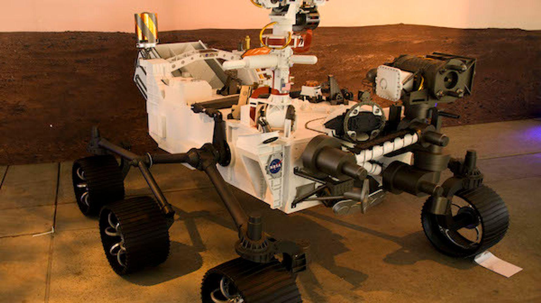 Mars Rover Perseverance unas horas después del intento de aterrizaje de Daredevil en el planeta rojo