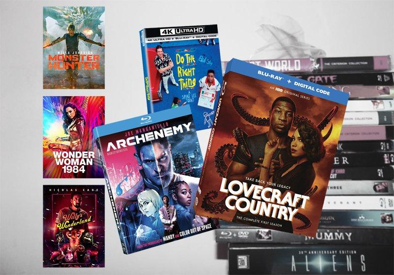 16 de febrero lanzamientos de Blu-ray, digitales y DVD