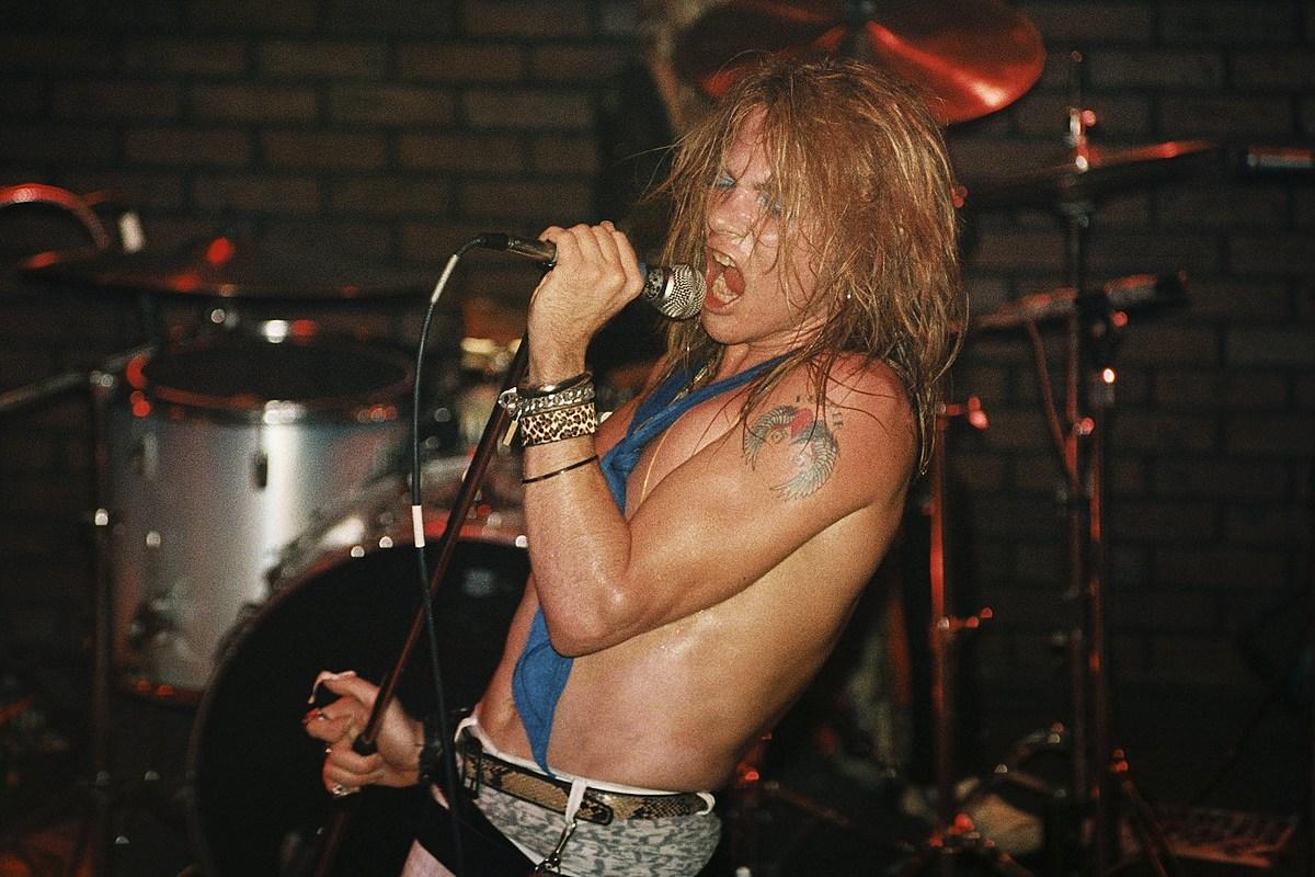 Vea fotos de Axl Rose de Guns N 'Roses a lo largo de los años