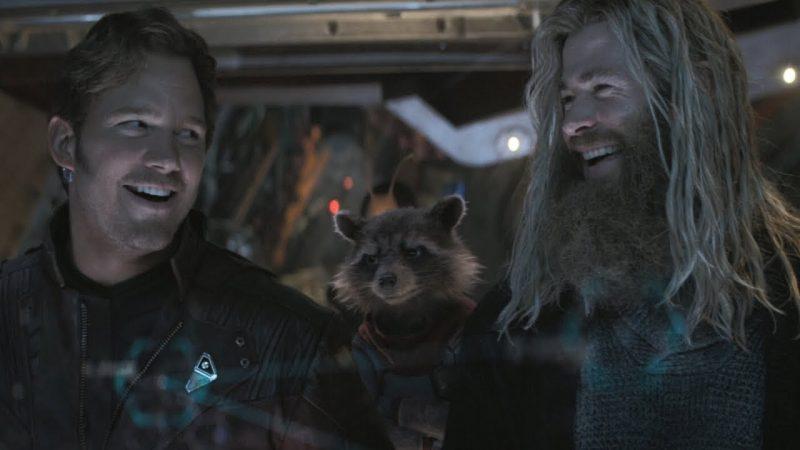 Las fotos del set Love and Thunder revelan el primer vistazo a Thor y Star-Lord